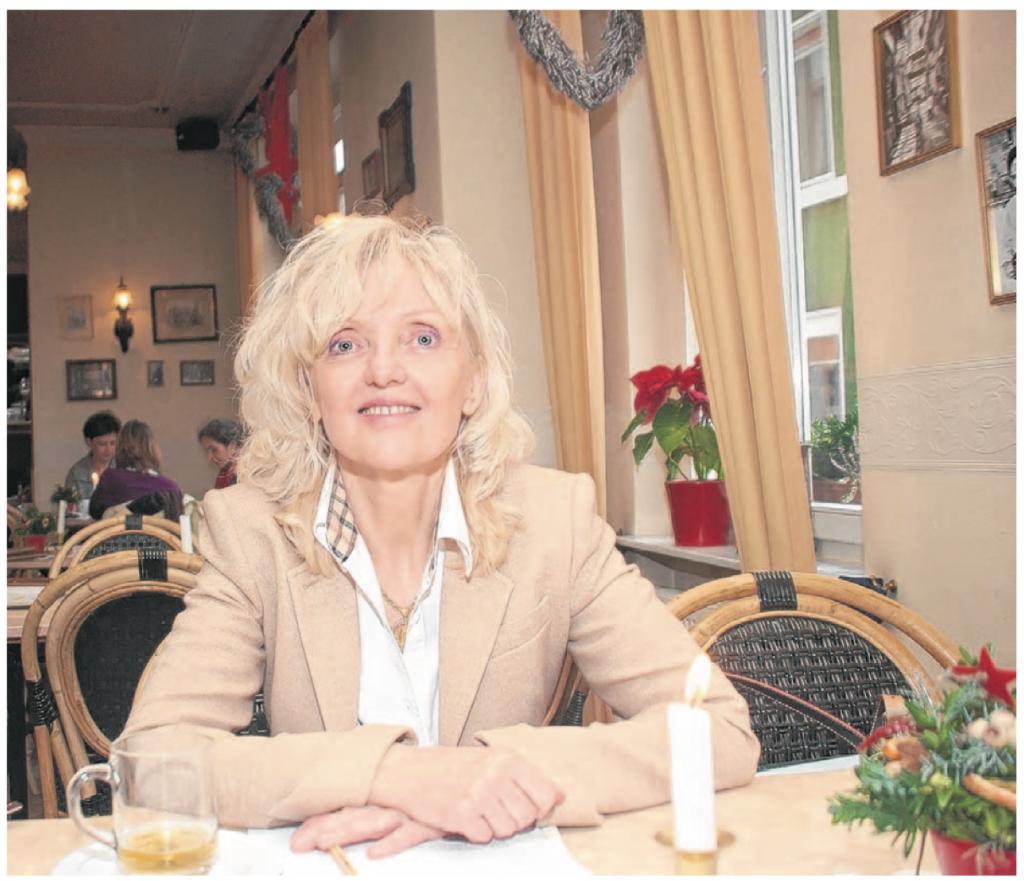 Dr. Barbara Schenk-Zitsch gestern Mittag auf ihrer Pressekonferenz im Kaffeehaus, auf der sie die Gründung der nach ihr benannten Stiftung zur Unterstützung von Projekten von und für Kinder und Jugendliche vorstellte.