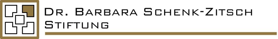 Dr. Barbara Schenk-Zitsch Stiftung