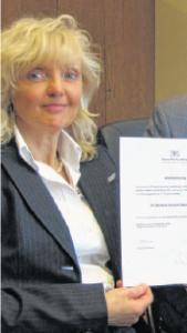 Stadträtin Schenk-Zitsch finanziert mit ihrer Stiftung die erste FSJ-Stelle